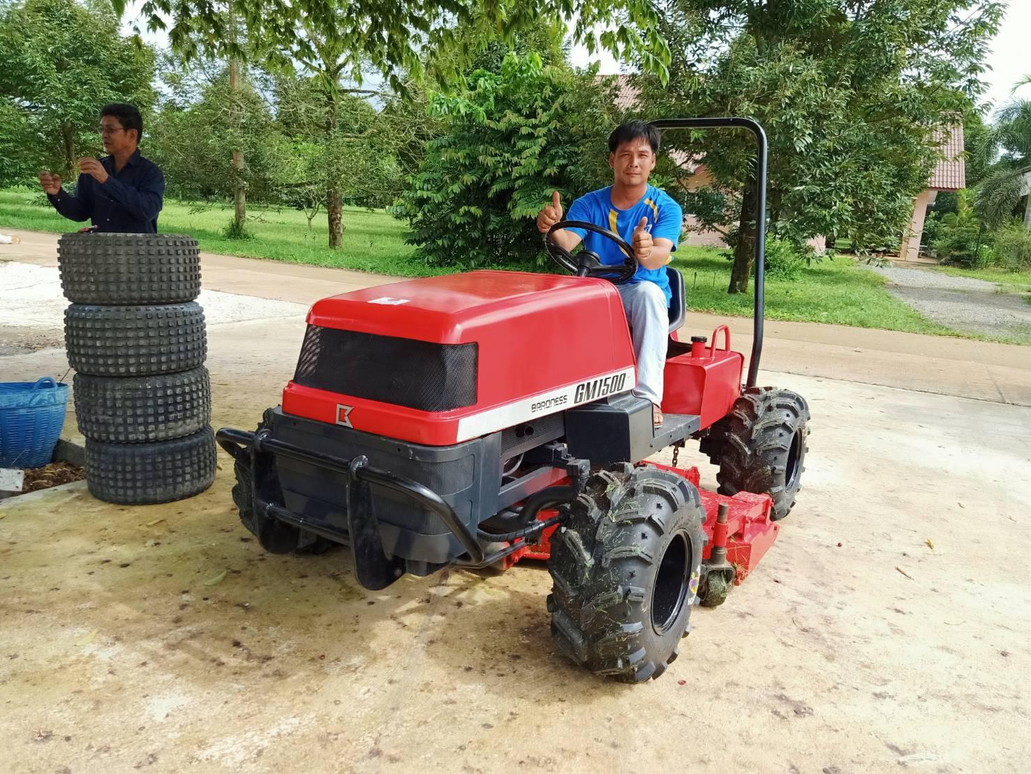 รถตัดหญ้าแบบนั่งขับจ.จันทบุรี